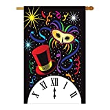 Cheap New Year Midnight Decorative Banner