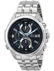Casio Mens EFR-536D-1A2VCF Neon Illuminator Stainless Steel Watch