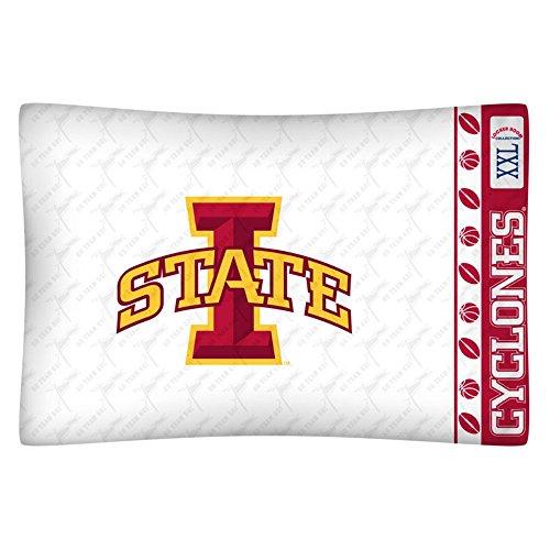 Bedding Sports Coverage - Sports Coverage College Micro Fiber Pillow Case Logo