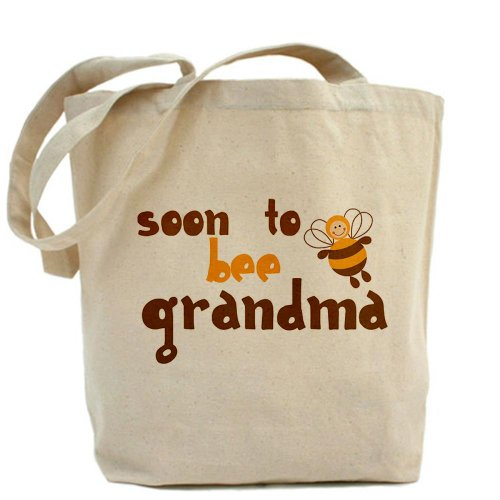 "CafePress Tote Bag-Soon ""Grandma to be Tote Bag"