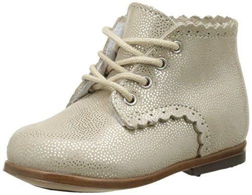 Little Mary 49700984, Zapatos de Primeros Pasos Niños Plateado (Siberia Plateado Crème)