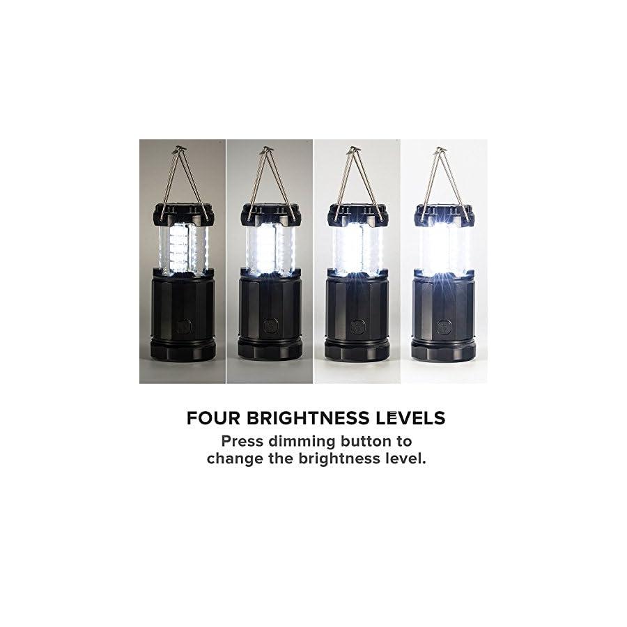 2 x LED Lantern V2.0 with Flashlight Latest COB Technology emits 300 LUMENS!