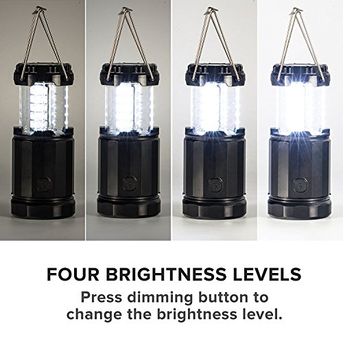 2 x LED Lantern V2.0 with Flashlight Latest COB Technology emits 300 LUMENS!