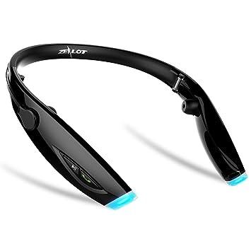 timly Zealot H1 deportes auricular inalámbrico Bluetooth auriculares con banda para el cuello gimnasio/running/ejercicio plegable auriculares para iPhone 6, ...