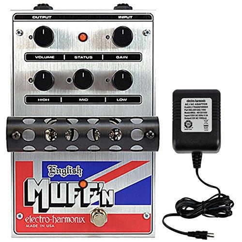 Electro-Harmonix English MUFF'N Fuzz Brand New! w/Free Power Supply