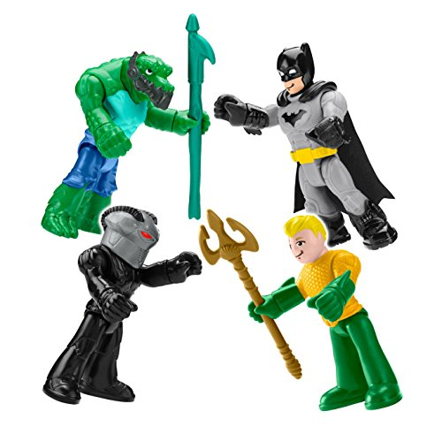 (Fisher-Price Friends Imaginext DC Super Heroes & Villains Action)