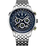 Rotary Gents Exclusive Pilot Chronograph Watch GB00644/05