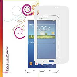 rooCASE Samsung GALAXY Tab 3 7.0 GT-P3210 EZ-ON Anti Glare AG Screen Protector (White Border)