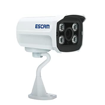MagiDeal 720p ESCAM Mini Cámara IP de Vigilancia Exterior Seguridad Onvif UE