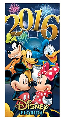 Disney 2016 Five Castle Florida Beach Towel