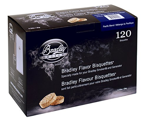 Bradley Smoker BTPB120 Pacific Blend Bisquettes