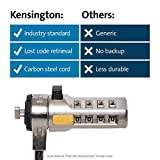 Kensington Combination Cable Lock for Laptops and