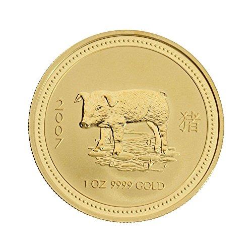 2007 1 oz Gold Lunar I