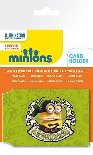 amazon com minions bello card holder by gb posters toys games