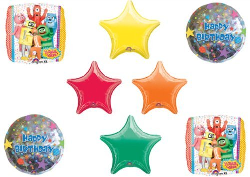 Yo Gabba Gabba Birthday Party Balloon Bouquet Kit