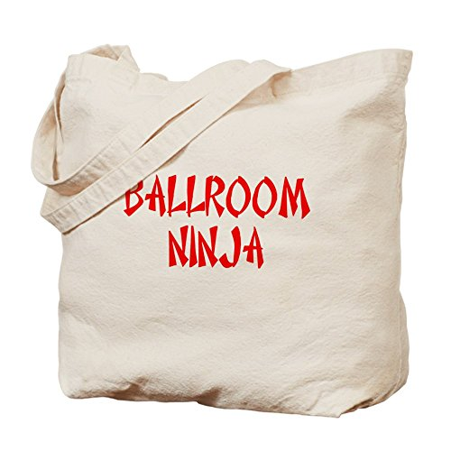 Cafepress–Ninja da ballo bag–Borsa di tela naturale, tessuto in iuta
