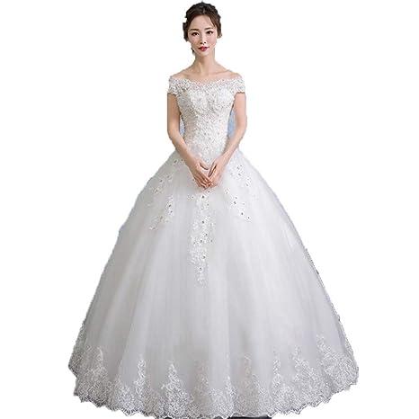 Vestidos de novia Las mujeres de manga corta fuera del ...