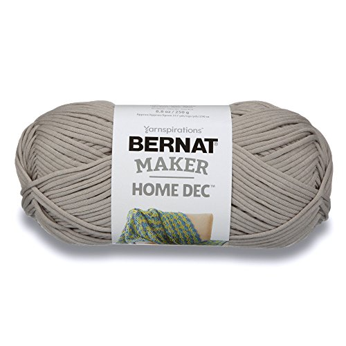Bernat Maker Home Dec Yarn - (5) Bulky Chunky Gauge - 8.8 oz - Clay - for Crochet, Knitting & Crafting