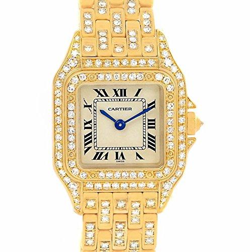 Cartier Panthere de Cartier quartz womens Watch WF3072B9 (Certified Pre-owned) Cartier 18k Wrist Watch