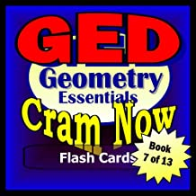 GED Prep Test GEOMETRY Flash Cards--CRAM NOW!--GED Exam Review Book & Study Guide (GED Cram Now! 7)