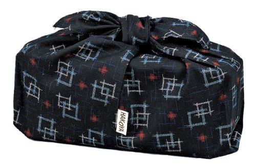HAKOYA Azuma Kasuri bag black 53922 (japan import) by Ya Tatsumi