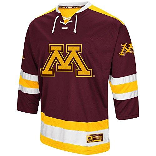 Colosseum Mens Minnesota Golden Gophers Hockey Sweater Jersey - 2XL
