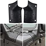 Textured Black Cowl Body Armor Corner Guard for 2018 2019 Jeep Wrangler JL Sahara Sport Sports Rubicon & Moab - A Pair