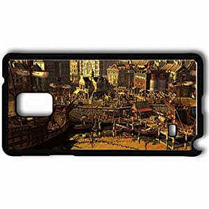 Personalized Samsung Note 4 Cell phone Case/Cover Skin Age Of Empires Iii Black