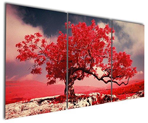 Gardenia Art - Graceful Red Maple Canvas Prints Modern Wall Art Abstract...