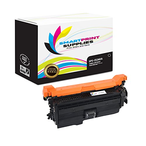Smart Print Supplies Compatible 647A CE260A Black Toner Cartridge Replacement for HP Laserjet CP4025 CP4525 Printers (8,500 Pages)