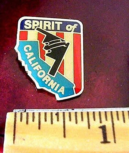 Quality Handcrafts - B-2 Stealth Bomber Northrup Grumman - Spirit of California US AIR Force PIN - Accessories for Clothes Decoration (Bomber Pin)
