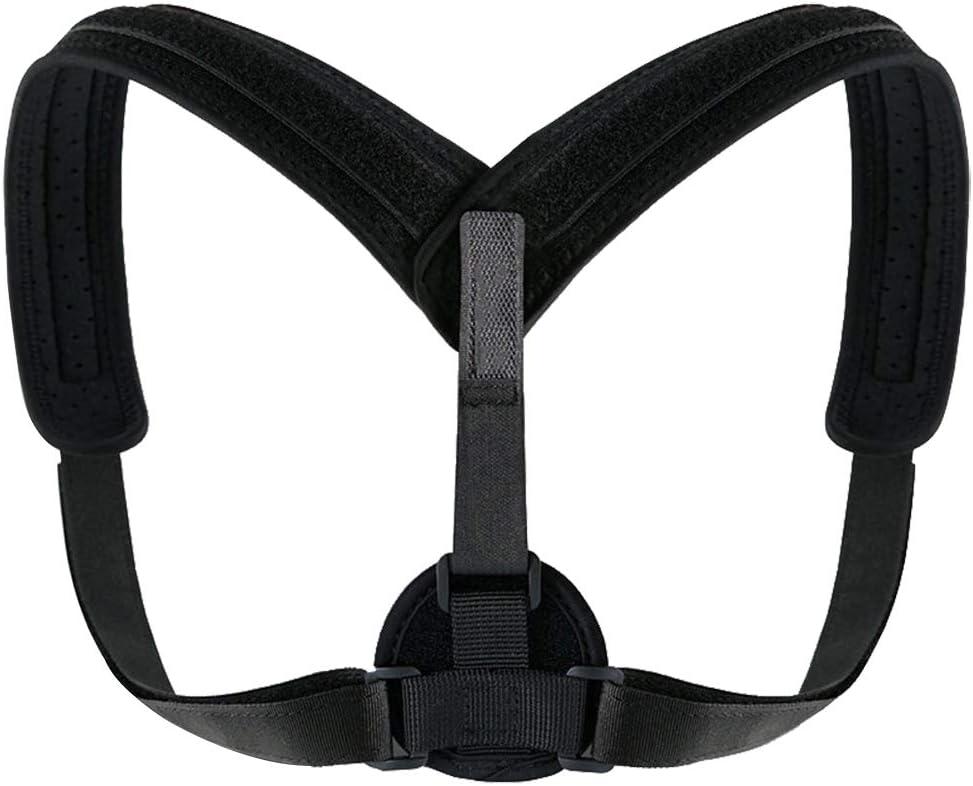 dos posture correcteur /¨/¦paule bandage unisexe bosse Brace ceinture de soutien-noir Yoga Fitness Equipment