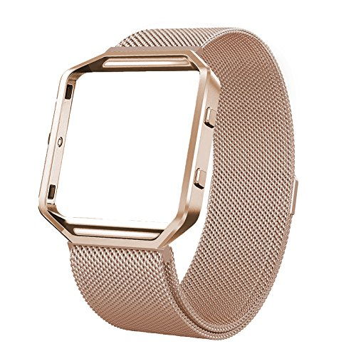 Fitbit Blaze Bands with Frame Metal Small Large ( 5