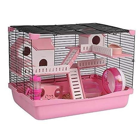 TONGZHENGTAI Suministros para Mascotas Hamster choza Cottage Pet ...