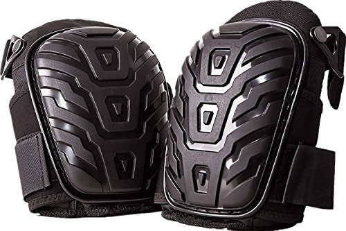 Professional Knee Pads for Work - Heavy Duty Foam Padding Kneepads for Construction, Gardening, Flooring with Comfortable Gel Cushion to Save Your Knees -