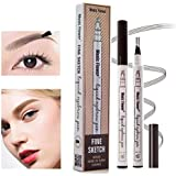 Yuxuan Eyebrow Tattoo Pen Microblading Eyebrow Pencil with a Micro-Fork Tip Applicator Creates Natural Looking Brows…