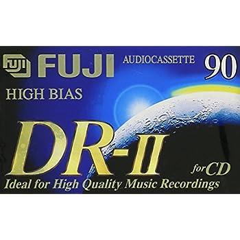 Fuji DR-II 100 Minute High Bias Audio Cassette Tape