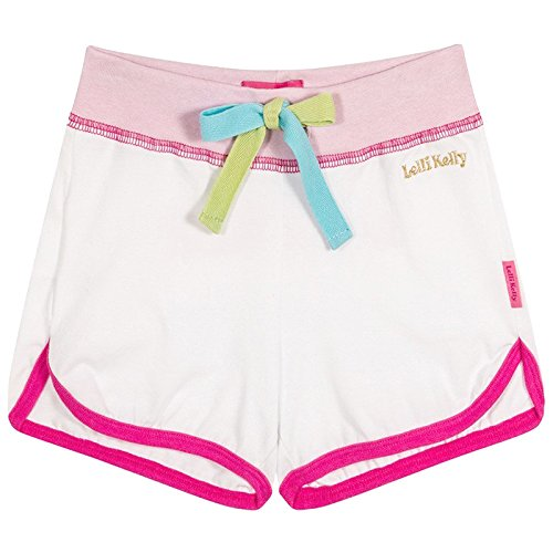 Lelli Kelly Diva White Pink Shorts Summer Chic Collection 65.02.42-7 Years