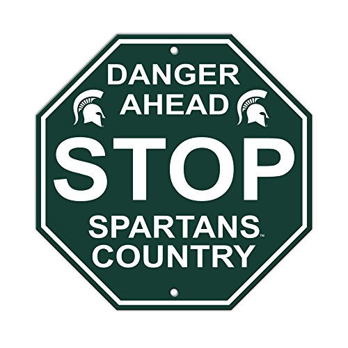 Fremont Die NCAA Michigan State Spartans Stop Sign, 12