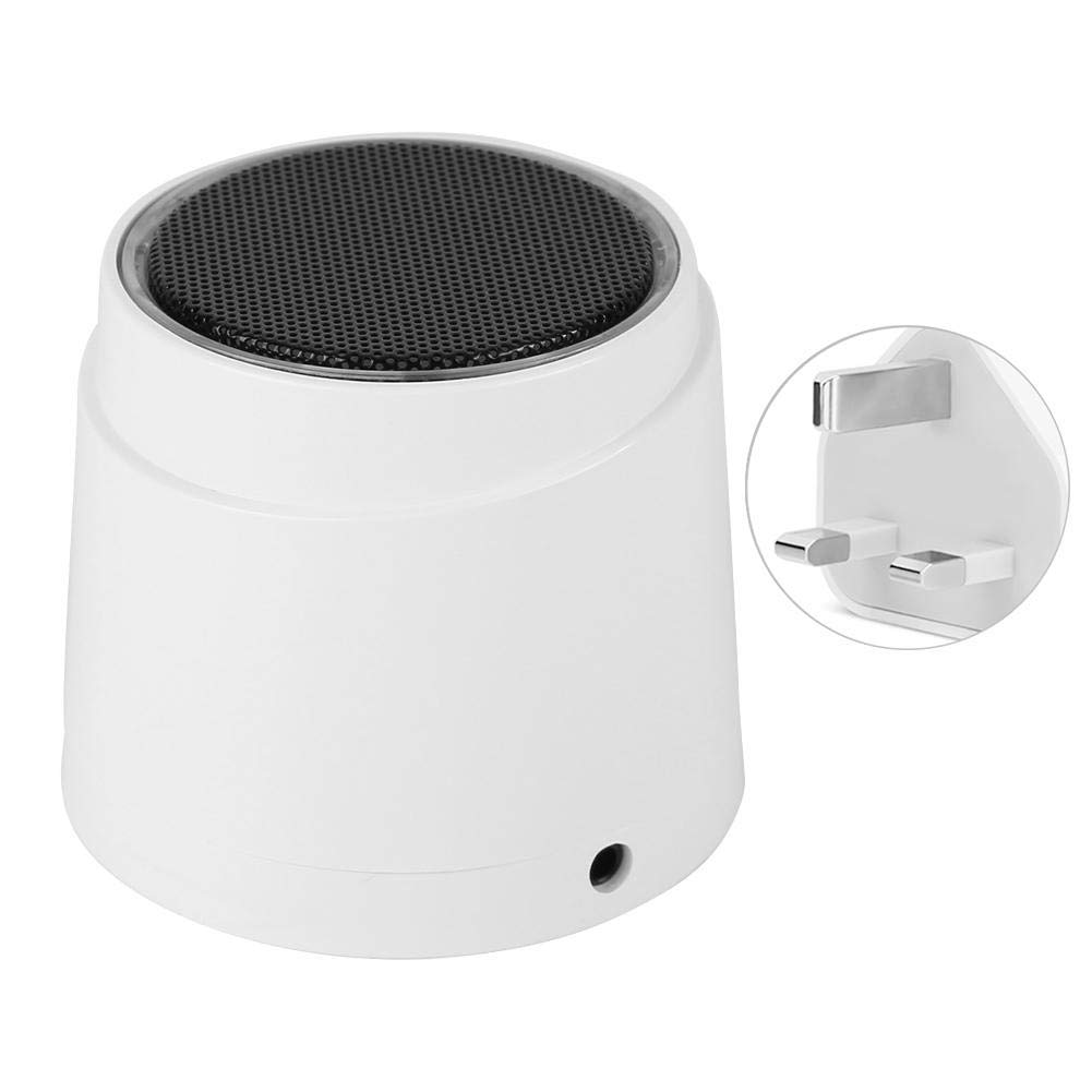 Wireless Outdoor 110dB Home Security Alarm System with 300mah Battery 110-240V Sound and Light Strobe Flashing Sound Siren Alarm Tonysa Wireless Strobe Siren UK Plug