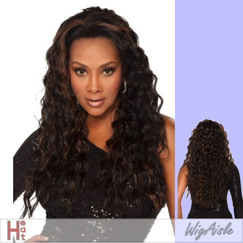 AUGUSTA-V (Vivica A. Fox) - Futura Fiber Lace Front Wig in MEDIUM DARK BROWN by Vivica A. - The Mall Augusta