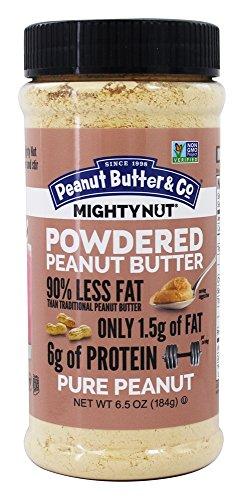 Peanut Butter & Co. Powdered Peanut Butter, Non-GMO, Gluten Free, Vegan, Pure Peanut, 6.5 Ounce - Pb Powder Butter Peanut Fit