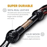 Leather Whip for Equestrian Whip for Horse Riding