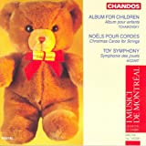 toy symphony - Tchaikovsky: Album for the Young / Belanger: Christmas Carols for Strings / Mozart, L.: Toy Symphony