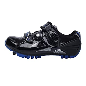 shoes Zapatillas de Ciclismo de montaña para Hombres, Bicicletas Ligeras Impermeables Zapatillas de montaña para