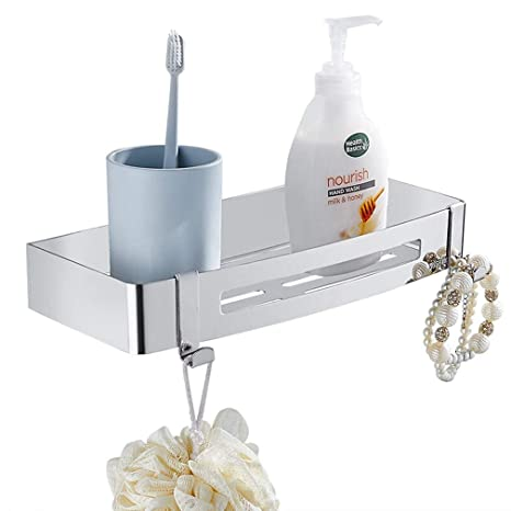 Amazon.com: Estante de ducha organizador para baño o ducha ...