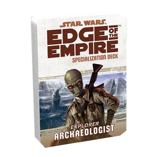 Specialization Deck - Archaeologist MINT/New (Empire On The Edge Bunker)