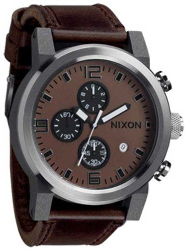 TEST Nixon The Ride Watch,One Size,Brown