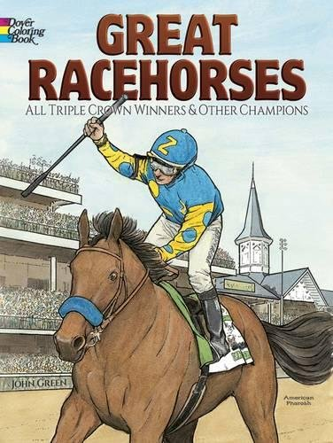 Great Racehorses Winners Champions Coloring