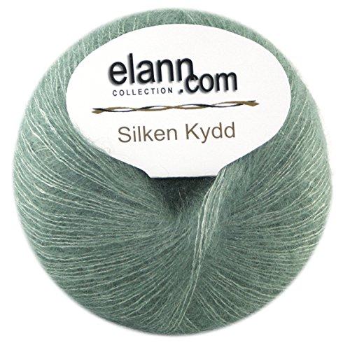 Mist Wool Scarf - elann Silken KYDD Yarn | 5 Ball Bag | Forest Mist-20